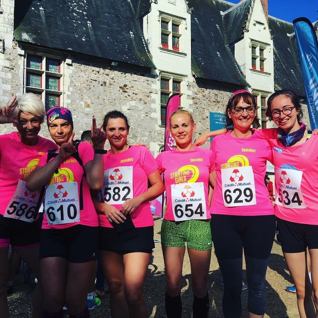 Equipe Starting girls Challenge «foulées du marais»