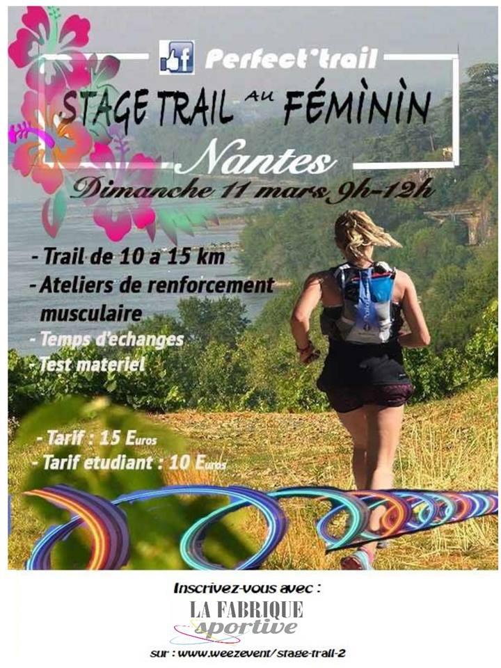 Stage initiation trail au féminin – Perfect trail et La Fabrique sportive